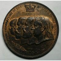 Англия медаль 1897 год
