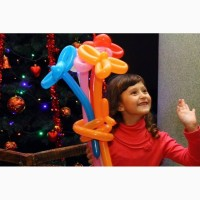 Аніматор-твістер. Іграшки-фігурки з повітряних кульок