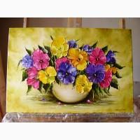Картина маслом Соняхи 40х60
