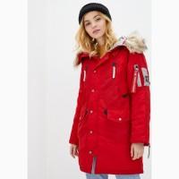 Жіноча зимова куртка N-3B Vega Airboss (червона)