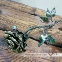 Кованые розы и цветы из метала. Лучший подарок