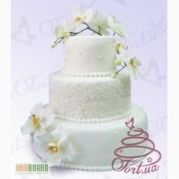 Весільний торт на замовлення Київ