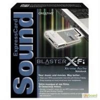 Звуковая карта Creative Sound Blaster X-Fi Xtreme Audio Notebook