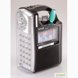 Радиоприемник FM, AM, SW, USB, Фонарь NS-040U-2