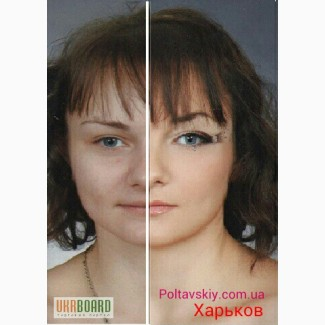 Визаж, профессиональный вечерний, свадебный макияж Харьков Холодная гора