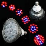 Лампа для подсветки растений 54W E27. Подсвечивание растений искусственным освещением