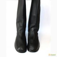 Сапоги кожаные / кирзовые черные ( БО 024у) 49 размер