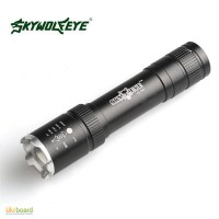 Фонарь Flashlight Sky Wolf Eye + аккумулятор + зарядка Power Bank