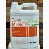 Шпатлевка для паркета Bona MixFill Бона Миксфилл 5л