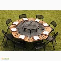 Удивительный стол для барбекю гриль