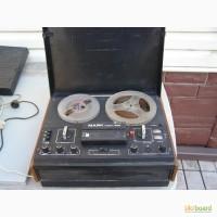Магнитофон бабинный, сделано в СССР