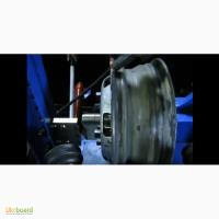 Правка, рихтовка дисков колес на станке Радиал М1это легко