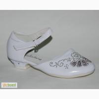 Туфли для девочек. Праздничные.klf арт. YL311B white
