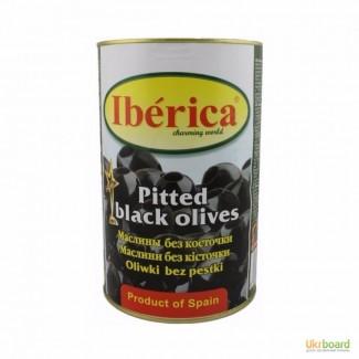 Оливки Иберика (Iberica) с косточкой, маслины без косточки 4кг