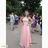 Продам выпускное платье цвета пудры