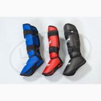 Защита голени и стопы, футы, накладки на ноги для каратэ M, L, XL