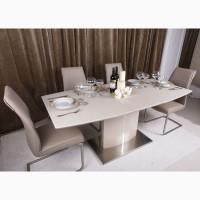 Обеденные столы Nicolas в современном стиле (стекло, керамика, МДФ)