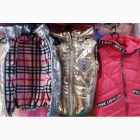 Детские модные жилетки, возраст 2-9 лет опт и розница