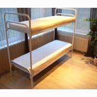 Металлическая кровать, двухъярусные кровати, кровать эконом