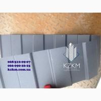 Двухсторонний профнастил матовый серый графит RAL 7024 купить для забора, ворот, калитки
