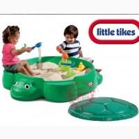 Песочница детская Черепаха с крышкой