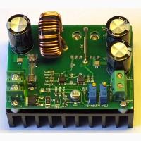 DC-DC повышающий преобразователь 12-80V входной ток 10А