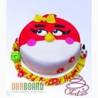 Детскии торт на заказ - любимые мультики и игры