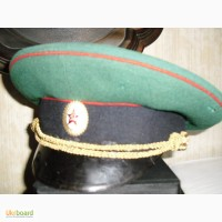Фуражка-военная -пограничник