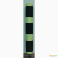 Ограничительный столбик.Резиновый парковочный столбик