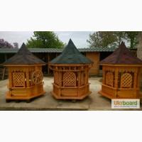 Деревяні вироби, альтанки, криниці, качелі, садова мебель, собачі будки