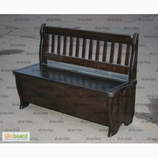 Кухонная скамья с ящиком