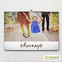 Печать календарей с фото. Подол