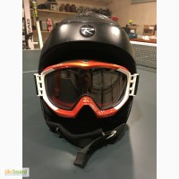 Горнолыжный шлем 58-60 +маска