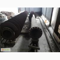 Труба стальная бесшовная толстостенная с фланцем, R 350 мм
