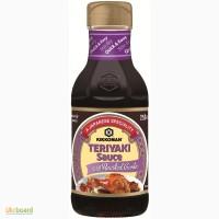 Киккоман соус Терияки с жареным чесноком - 250 мл