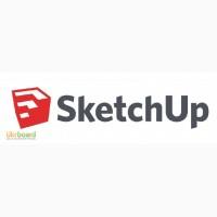 Курс Моделювання «SketchUp» в Києві. Дистанційне Навчання в Skype
