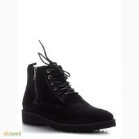 Sale! Чёрные кожаные ботинки Carlo Pazolini Очень удобные