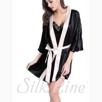 Шелковые халаты женские SilkLine купить с доставкой по Украине