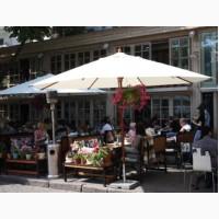 Зонт деревянный СОЛО ø-4м, для дома, кафе и ресторана