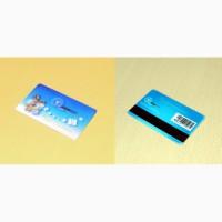 Пластиковая карточка со стерео/варио эффектом