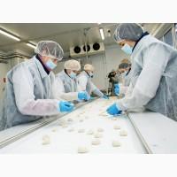 Работник на завод по производству вареников и пельменей в Польше