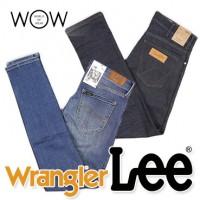 WRANGLER LEE джинсы для женщин и мужчин оптом. Новое поступление