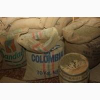 Кофе зеленый необжаренный в зернах Арабика Колумбия Супремо