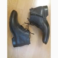 Мужские туфли ботинки Rylko 42р кожаные состояние новых, весна осень зима