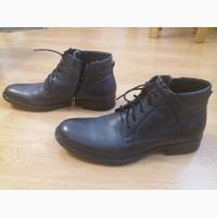 Мужские ботинки туфли Rylko 42р кожаные состояние новых, зимние теплые весна осень