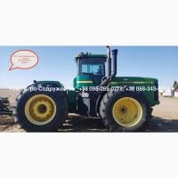 Б/у Трактор John Deere 9400 из США 425 лс