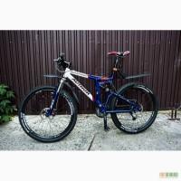 Продам велонабор: раму двухподвес Author, вилку, задний аморт-р