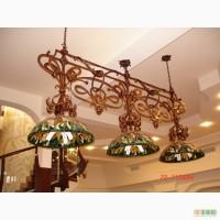 Кованые люстры и светильники под заказ