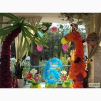 Оформление детских праздников воздушными шарами