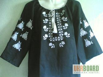 Продам купить черна вышиванка льняна и хб мужская и женская 1bff53a4ccf14